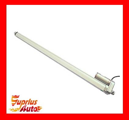 32inch/800mm stroke 10mm/s unload speed 1000N/100kgs load dc 12v/24v electric waterproof linear actuator<br>