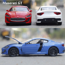 1:32 Scale Original Kids Maserati GT Metal Die Cast Model Sports Racing Cars Vehicle Gift Collectible Auto Boys Wheels Motor Toy