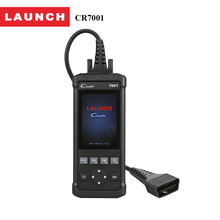 Launch OBD2/EOBD scanner Automotriz Diagnostic Tools CReader 7001 OBDII code reader Print data via PC and Oil reset for 61 cars(China)