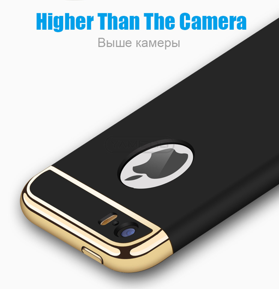 YAMIZOO 5s For iPhone se 5 Case 360 protection Phone Cases On Luxury Full Hard Plastic Coque Back Cover For iPhone 5s se 5 Case (8)