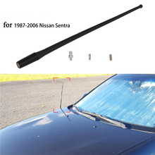 "13"" Roof AM / FM Antenna Mast Whip Auto Radio Antenna For 1987 - 2006 Nissan Sentra Black Signal Aerial Car Accessories /"