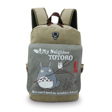 2015 New Hot movie My Neighbor Totoro backpacks cosplay accessory anime daily bag Cartoon Tonari no Totoro travel bags ACG62