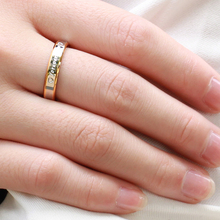 Fine Jewelry Forever Love Carved Stainless Steel Ring Couple Rings Best Gift 2*1PC (Pls Leave Message About Size)
