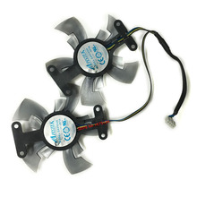 2pcs/lot GA91O2H computer Graphics card fan VGA Cooler Fans For dataland R9 270 2G R9 370 4G Video Card cooling