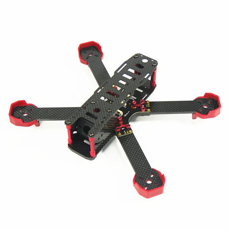New Arrival DALRC XR215 PLUS 215mm Carbon Fiber Racing Frame w/ PCB Board For FPV Racing<br><br>Aliexpress