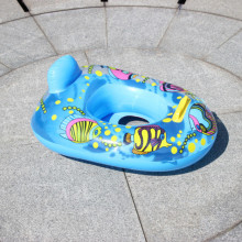 1pc Baby Seat Swimming Swim Pool Aid Trainer Beach Float Ring Inflatable Random
