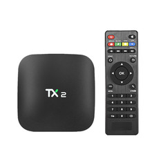 TX2-R2 1GB/2GB 16GB Rockchip RK3229 Android 6.0 TV BOX 4K x 2K H.265 2.4GHz WiFi Bluetooth 2.1 Media Player IPTV Box TX2 R1 R2