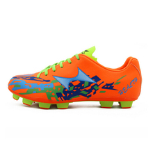 Men Soccer Shoes Superfly Outdoor Cleats Football Boots High Quality Soft Orange Green Sprots Shoe Free Shipping