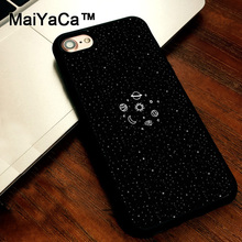MaiYaCa Space Sketch Sun Moon Stars Planets phone cases soft case cover for Apple iPhone 5 5s Cover For iPhone SE coque fundas