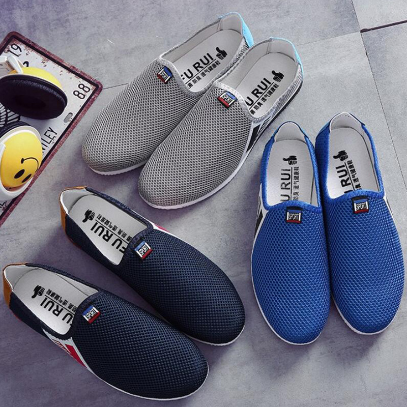 New Arrival Men 2017 Fashion Summer Tennis Shoes Male Loafers Leisure Korean Sneakers Trainers Flat Casual Shoes Zapatillas G548<br><br>Aliexpress