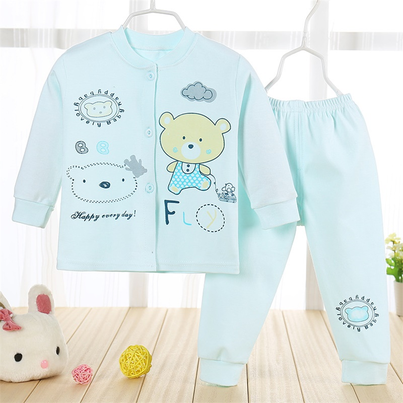 2016 autumn winter 6~18M baby sets romper underwear bear T-shirt and pants hat clothing newborns clothes for baby boy girls<br><br>Aliexpress