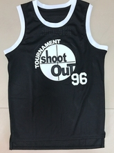 Above The Rim Tupac Shakur Birdie 96 Tournament Shoot Out Basketball Jersey Black All stitched