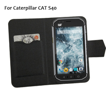 5 Colors Hot! Caterpillar CAT S40 Phone Case Leather Cover,2017 Factory Direct Fashion Luxury Full Flip Stand Phone Cases Cover