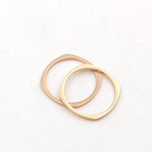 Quartet rhombus tail ring 316l stainless steel rings for women, fashion top quality engagement anel dropshipping accessories