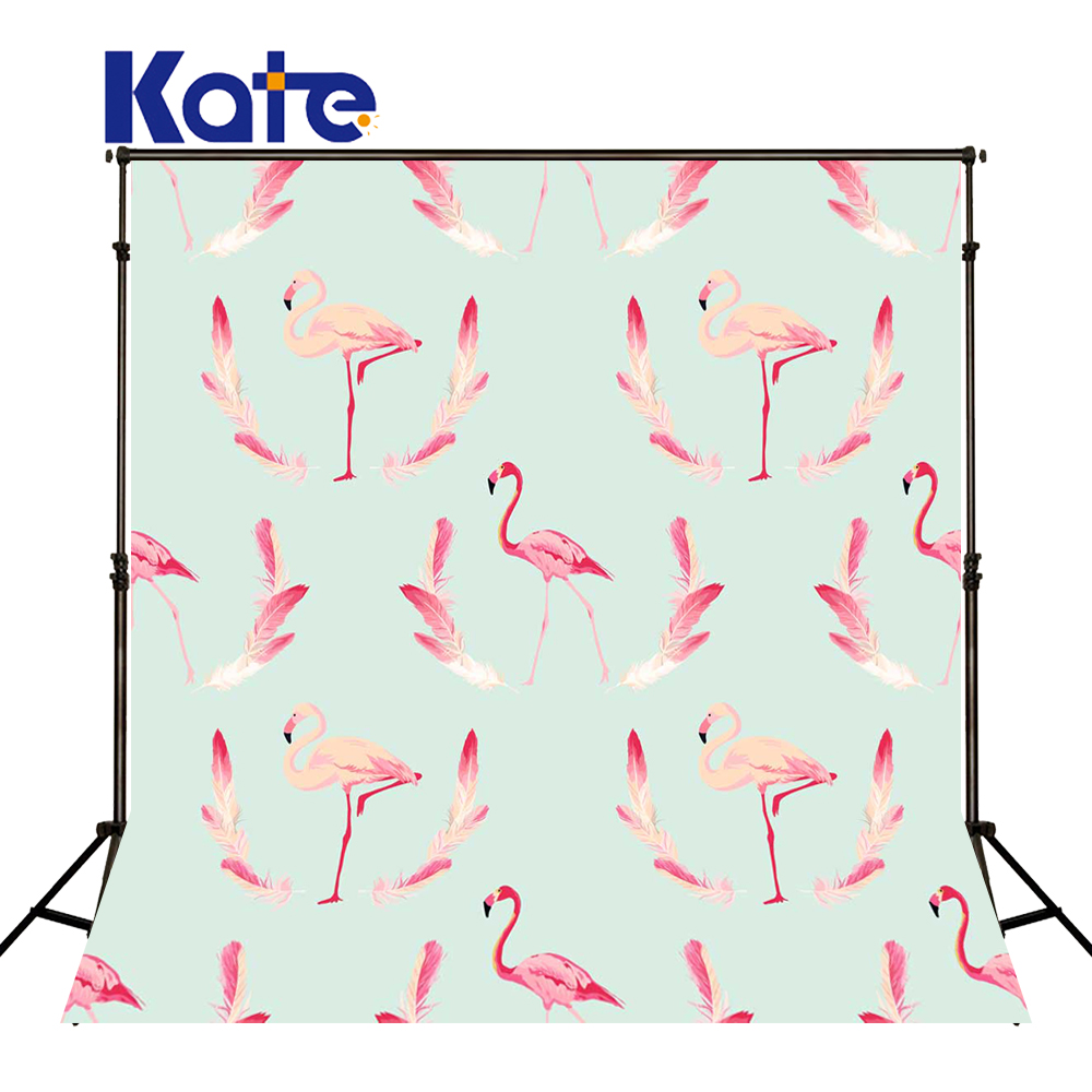 KATE Photography Backdrops Pink Flamingo Background Newborn Backdrop Naturism Children Photos Wedding Backdrops for Photo Studio<br>