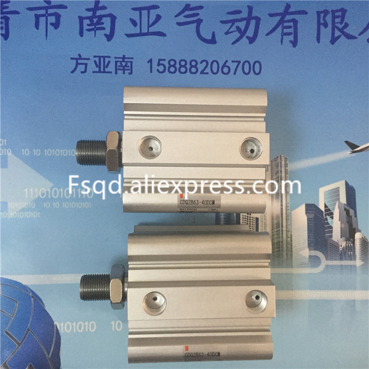 CDQ2B63-35DCMZ CDQ2B63-40DCMZ CDQ2B63-45DCMZ SMC pneumatics pneumatic cylinder Pneumatic tools Compact cylinder<br>
