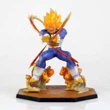 Buy ZXZ Hot Japanese Anime Figure Model Dragon Ball Z 13CM Super Saiyan Vegeta Action Figure Scale Doll PVC Figure Toys for $10.07 in AliExpress store