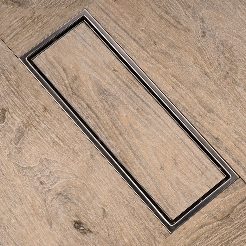 Linear-Shower-Floor-Drain-with-Tile-Insert-Grate-Made-of-Sus304-Stainless-Steel-12-Inch-Long