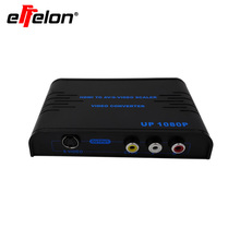 Effelon HDMI To Composite RCA & S-video Converter Scaler 720p 1080p with Adapter