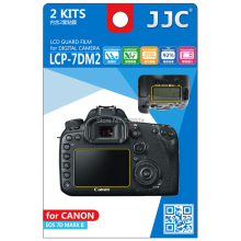 JJC LCP-7DM2 Pro Polycarbonate LCD Display Monitor Guard Film Screen Protector Cover for CANON EOS 7D MARK II 7D2 CAMERA