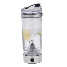Protein Shaker Tornado Mixer Bottle Hand Held Drink Jug Stirring Jug USB Blender Bottle Charging Milk Shake Mixer Water Jug(China)