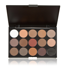 15 Earth Color Matte Pigment Eyeshadow Palette Long Lasting Makeup Comestic Eye Shadow
