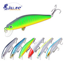 iLure Fishing bait Minnow 7 cm 6g Dive artificial bait hardplastic Hard Lure wobbler Bass bait fishing tackle Crap Free Shopping(China)