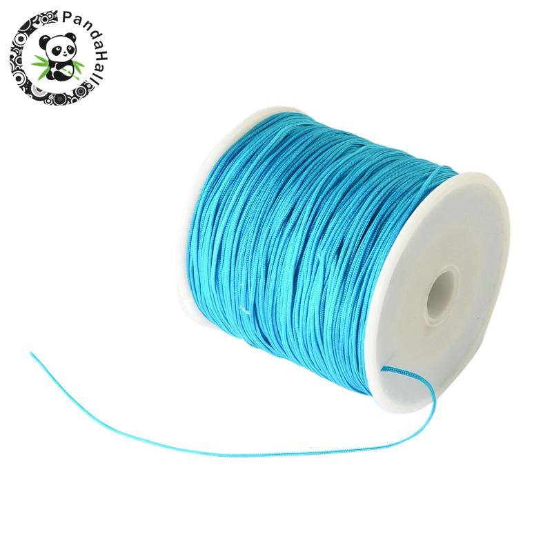 0.8mm 90m/roll Nylon Thread Cord For Bracelets Beading Necklace Jewelry DIY Accessories Making 15