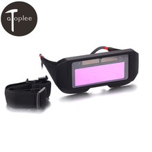 1Pcs Solar Auto Darkening Welding Goggles Helmet Eyes Welder Glasses Welder Labour Working Safety Protective Eyewear
