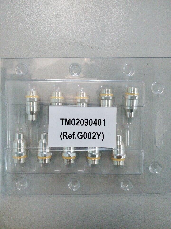 1pcs Non-original .11.848.221.300  G002Y 60A 90A 130A 160A silver electrode CNC plasma cutting cutter consumables 440<br>