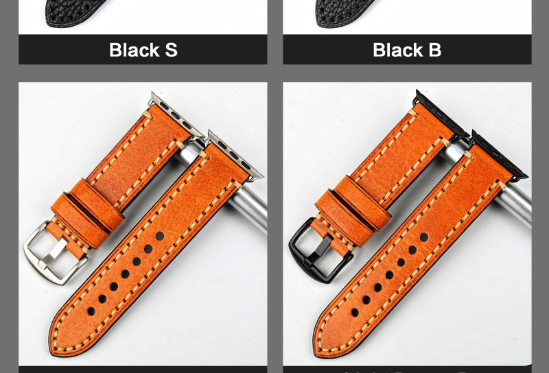 Special Genuine Leather-Strap Apple-Watch