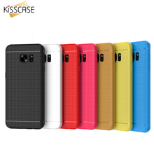 KISSCASE For Samsung Galaxy S8 s8 Plus Case For Samsung S7 s6 Edge For LG G5 G4 G3 Case Soft Silicone Honeycomb Cover(China)