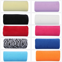 1 Pc Hand Pillow Cushion Nail Manicure Tool Hand Rest Multi-colors Hand Holder Soft Plush Sponge Nail Salon Beauty Tool(China)
