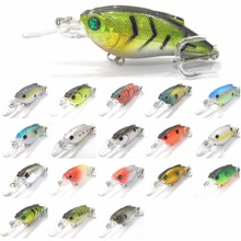 wLure Fishing Lure Crankbait Medium Diver Wide Wobble High Quality ABS Construction 7g 7cm Hard Bait C647