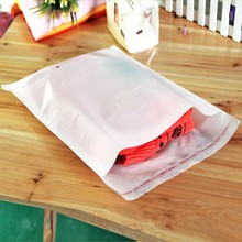 Wholesale Milk White Self Adhesive Poly Bag Household Travel Package Bag Socks Underwear Clothing Self-Adhesive Packaging Bags(China)