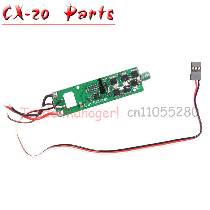 Free shipping CX-20  Axis UAV 2.4Ghz Pathfinder rc Quadcopter Drone spare Parts Red, green power transfer circuit pcb board<br>