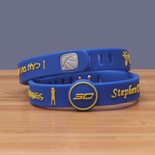 Adjustable Bracelet NBAStar Stephen Curry Bracelet Popular Silicone Bracelets Basketball Silicon Bileklik Silicone Wristband(China)