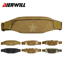 Universal Men Women Running Military Molle Hip Waist Belt Bag Tactical Waterproof Sport Travel Hiking Backpacks GYM Phone Case(China)