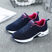 Buy 2018 Summer Sneakers Women Breathable Mesh Running Shoes Damping Sport Shoes Woman Outdoor Jogging Blue Walking Shoes A22 for $25.76 in AliExpress store