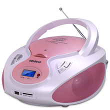 Speaker cd player Mutil-Function Portable CD for Study Antenatal Education support USB/SD antenatal training CD player(China)