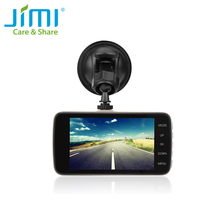 Jimi JC01 Newest Hot Car DVR Car Camera Dash Camera 4 Inch Dual Lens Rearview Camera Blackbox Night Vision Car Recorder(China)