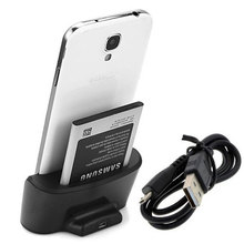 Dual USB Charger Docking Station Cradle Charging Sync Dock For Samsung Galaxy S4