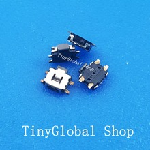 10pcs Brand Power On Off Switch / Volume Button replacement parts For OPPO U539 T29 Lenovo A66T A580 A750(China)