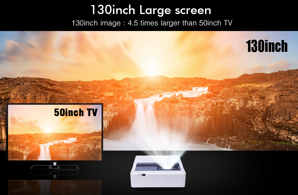 BYINTEK CLOUD K9 Ultra Short throw Daylight HLD 3LCD Video Movie 1080P FUll HD Projector for Home Theater Education Business (6)