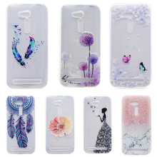 Smartphone Cases For Asus Zenfone GO 2nd Gen ZB452KG ASUS_X014D ZB450KL Cases Cover Silicon Skin Housing Sheath Bags Painted