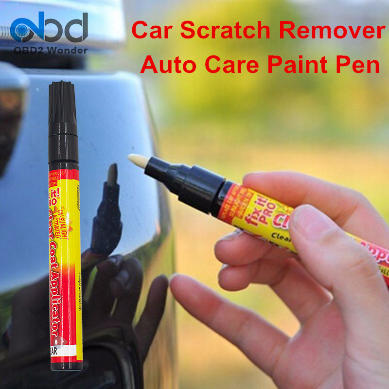 2017 Universal Car Scratch Repair Pen Fix It Pro Auto Care Paint Pen Car Scratch Remover Auto Car Accessories For All Colors(China)