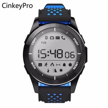CinkeyPro Smart Watch F3 Sports Digital Men Outdoor Smartwatch Pedometer Notifier Sync Altitude for Apple iPhone iOS Android