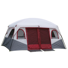 Large Family Camping Tents Waterproof Cabin Outdoor Tent for 8 10 12 Person Event Marquee Tents(China)