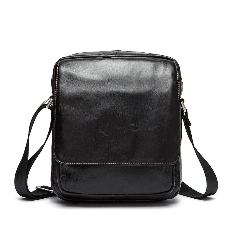 2017 New Genuine Leather Multifunction Men Shoulder Bag Postman Bag Messenger Bag Crossbody Bag Casual bolsas male Handbags <br>