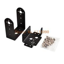 5sets Mg995 996 steering gear pan and tilt mount mechanical robot servo mount set(China)
